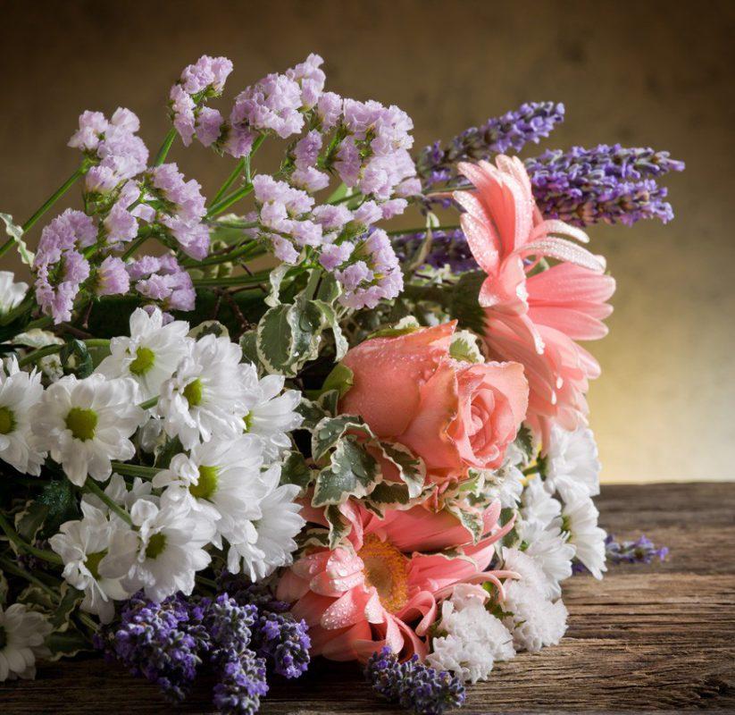 Hemkörning av blommor